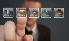 button-language-selection-business-man-pressing-47056767