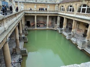 Termas romanas en Bath